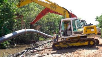 Concluyeron obra que vuelca efluentes industriales tratados en río Gualeguaychú
