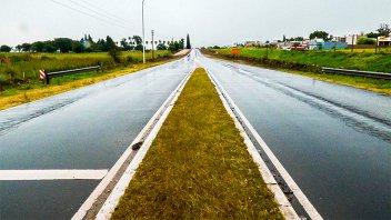 Recomiendan transitar con precaución por rutas y caminos de la provincia