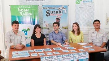 Se presentó la XXV fiesta provincial del Surubí Entrerriano
