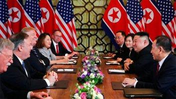 Sin acuerdo: Kim propuso a Trump desnuclearizar, pero EE.UU