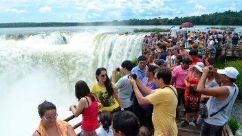 Por la devaluación, enero mostró crecimiento en cantidad de turistas extranjeros