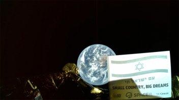 La primera sonda lunar israelí
