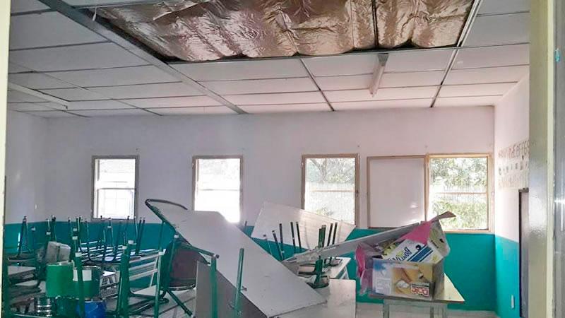 Robo y destrozos en escuela de Concordia
