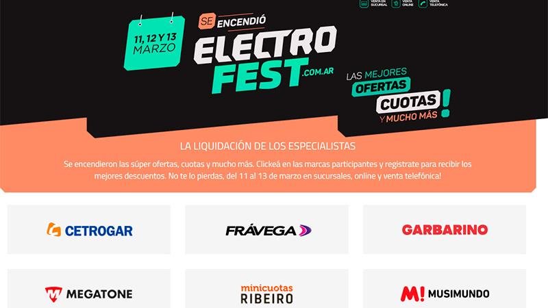 ElectroFest: lanzan descuentos para levantar las ventas de electrodomésticos