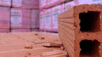 Construcción: Las ventas de insumos cayeron casi 17% en primer bimestre