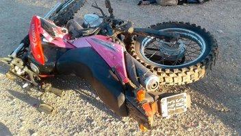 Fatal accidente: Un hombre murió tras ser embestido por una motocicleta