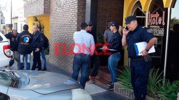 Operativo policial en hotel de Paraná: Detienen a presuntos delincuentes