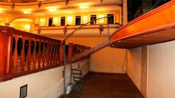 Colocarán una red de seguridad en la fosa del Teatro Gualeguaychú