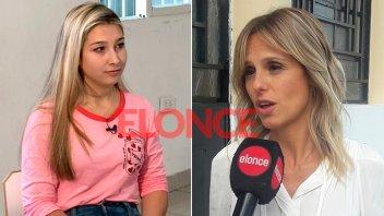 Mariana Fabianni dio detalles de la entrevista con Nahir Galarza
