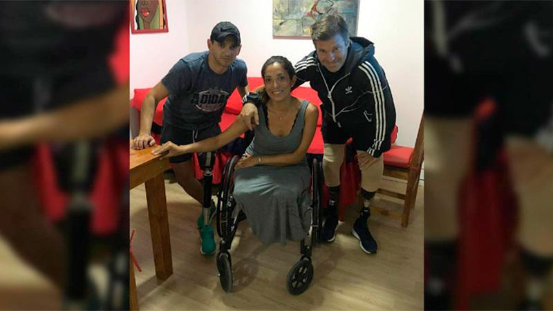 Beatriz Farfán había viajado para ver a Luis Miguel