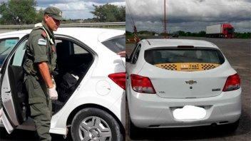 Detuvieron a taxista de Paraná que trasladaba 1,4 kilos de cocaína