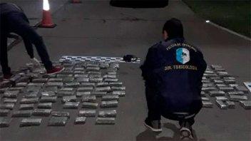 Frustraron el ingreso de importante cargamento de droga a la provincia