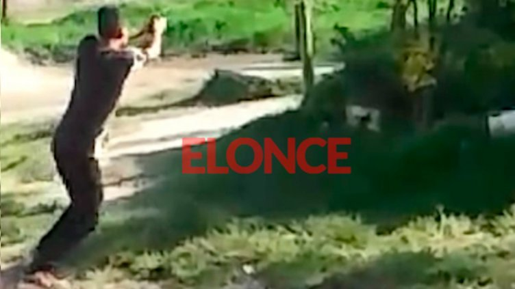 Video: Miembros de familias antagónicas dirimieron sus diferencias a los tiros