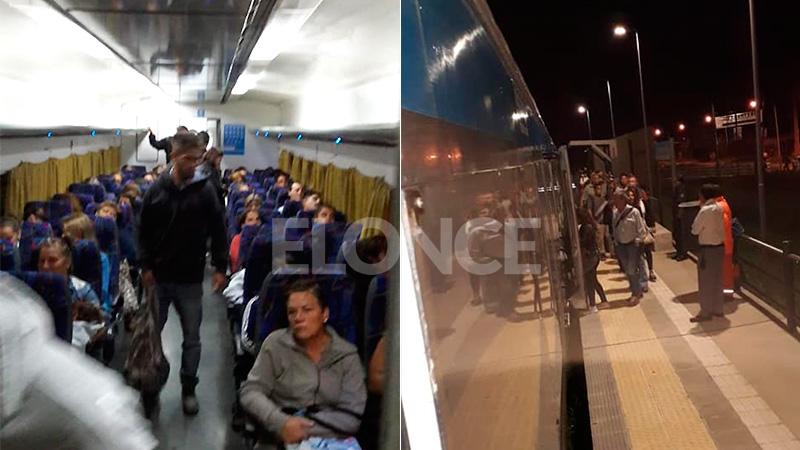 El tren Paraná-Colonia Avellaneda hizo nueve viajes por el paro de colectivos