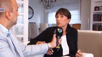 La viuda contó qué le dijo Emilio Disi sobre el affaire con Iliana Calabró