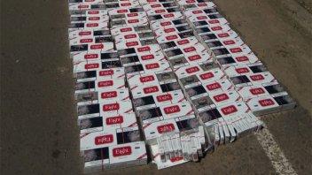 Secuestran 900 paquetes de cigarrillos de origen paraguayo