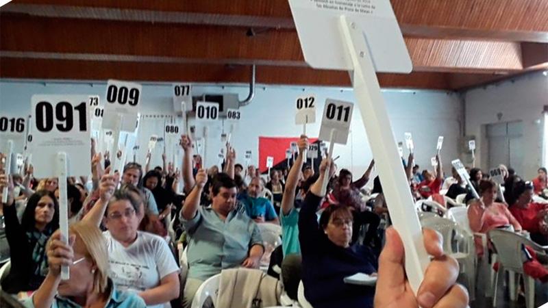 Día de definición: Agmer votaría hoy la aceptación de la oferta salarial