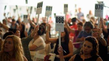 El congreso de Agmer resolvió aceptar la propuesta salarial del Gobierno
