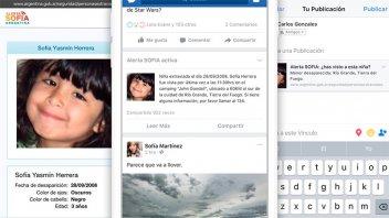 Cómo funciona la búsqueda de chicos desaparecidos con ayuda de Facebook