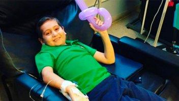 Video: Nene tiene leucemia y pide ayuda para otro chico con la misma enfermedad