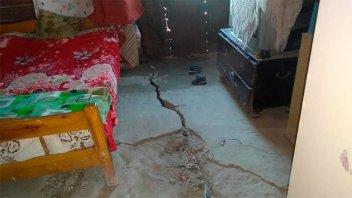 Fotos: El temor de vecinos de Diamante por nuevos deslizamientos en la barranca