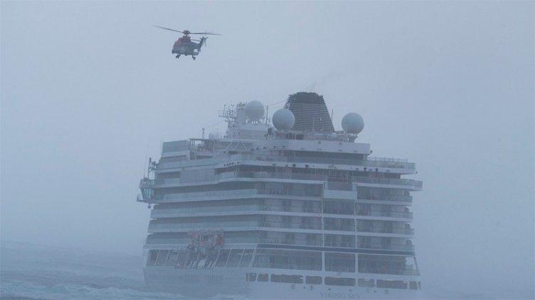Videos: La desesperación de 1.300 pasajeros por las fallas en un crucero noruego