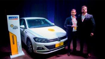 Volkswagen Virtus recibió el premio