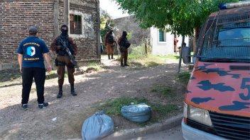Secuestraron droga y dinero tras cinco allanamientos por narcomenudeo