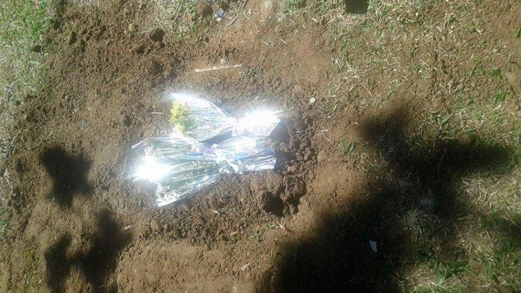 Investigan cómo enterraron un feto en un táper en el cementerio de Concordia
