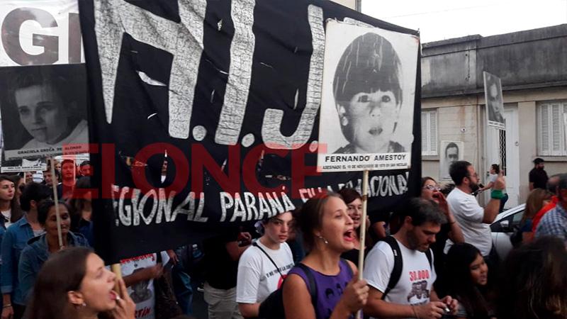 Elonce TV en vivo: Paraná revive el pedido de Memoria, Verdad y Justicia