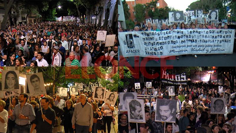 Testimonios y fotos: Paraná revivió el pedido de Memoria, Verdad y Justicia