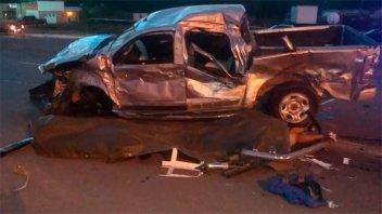Nueve personas perdieron la vida por el choque entre un camión y una camioneta