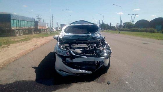 Joven murió tras ser chocado en Ruta 39: Quedó a 70 metros del lugar del impacto