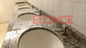 El Liceo Paula Albarracín con problemas de agua y gas
