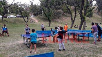 Paraná se unió a la celebración del día mundial del tenis de mesa