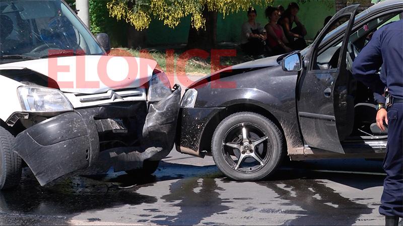 El choque en Paraná