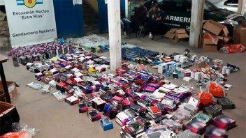 Gendarmería decomisó mercadería por más de $ 1 millón en la Ruta 12