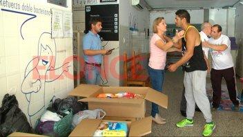 Entregaron al hospital San Roque donaciones recaudadas en festival de box