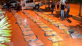Hallaron droga valuada en más de $ 41 millones en una camioneta en la ruta 14