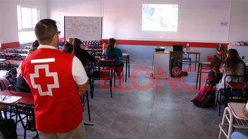 La Cruz Roja brinda cursos sobre primeros auxilios