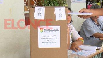 Votó más del 70 del padrón electoral en toda la provincia