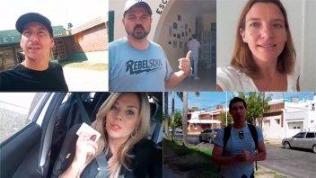Videos: Conductores televisivos emitieron su voto