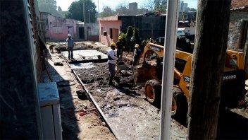 Promeba: Se amplían las obras en los barrios Humito, Los Flores y Kilómetro 3