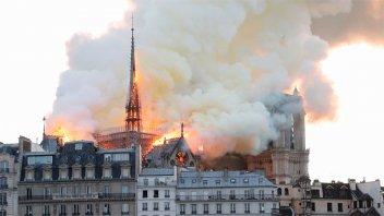 Notre Dame celebrará el próximo fin de semana la primera misa tras el incendio
