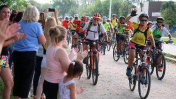 Invitan a un recorrido de cicloturismo por cuatro localidades santafesinas
