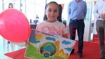 Una niña paranaense, entre las ganadoras del concurso de Toyota
