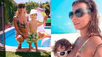 Ximena Capristo se mostró amamantando a su hijo e hizo un anuncio