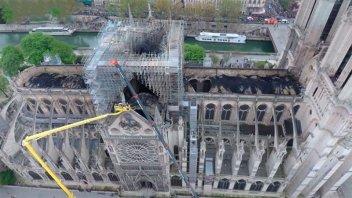 Se materializó solo el 9% de las donaciones prometidas para Notre Dame