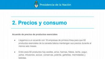 El detalle de las medidas económicas y sociales anunciadas por el Gobierno