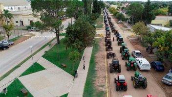 Tras la marcha de tractores, productores indicaron que